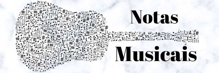 notas de violão musicais