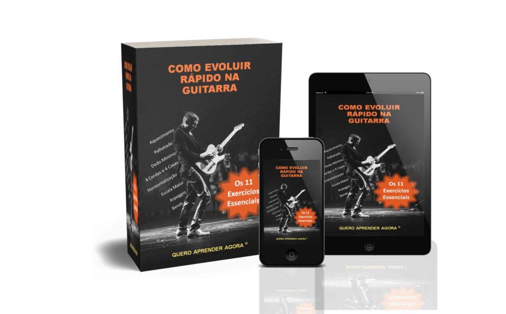 Como Evoluir Rápido na Guitarra Ebook Gratis