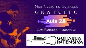 Progressão Harmônica Guitarra (Curso Gratis Aula 28)