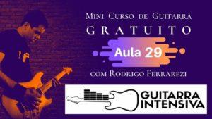 Progressões Harmônicas (Curso de Guitarra Gratis Aula 29)